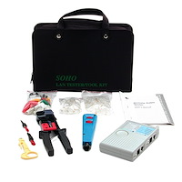 Professional RJ45 Network Installer Tool Kit with Carrying Case