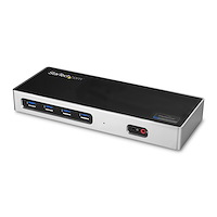 Dual-4K Docking Station with 6 x USB 3.0 Ports