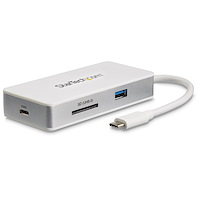 USB-C Multiport Adapter - SD (UHS-II) Card Reader - 100W Power Delivery - 4K HDMI - GbE - 1x USB 3.0