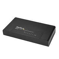 5 Port Unmanaged Energy-Efficient Gigabit Ethernet Switch - Desktop / Wall Mount Network Switch
