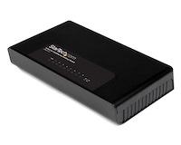 8 Port Fast Ethernet Switch - 10/100 Desktop Wall Mount Network Switch