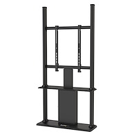 Digital Signage Display Stand - Black - Locking