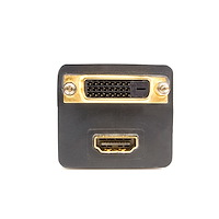 DVI-D to DVI-D & HDMI Splitter Cable - M/F