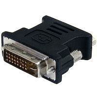 DVI naar VGA video adapter - Zwart - M/F