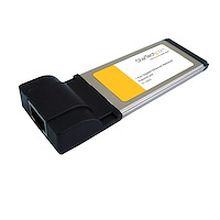 Carte Adaptateur ExpressCard/34 vers 1 Port Ethernet Gigabit - Carte NIC