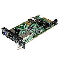 Gigabit Ethernet Fiber Media Converter Card Module with Open SFP Slot