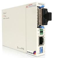 1000 Mbps Gigabit Ethernet Single Mode Fiber Media Converter SC 40 km