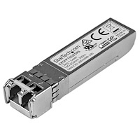 Juniper EX-SFP-10GE-SR Compatible SFP+ Module - 10GBASE-SR - 10GbE Multimode Fiber MMF Optic Transceiver - 10GE Gigabit Ethernet SFP+ - LC 300m - 850nm - DDM
