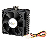 65x60x45mm Socket 7/370 CPU Cooler Fan w/ Heatsink & TX3 connector