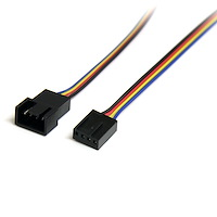 4-Pin Fan Power Extension Cable - M/F