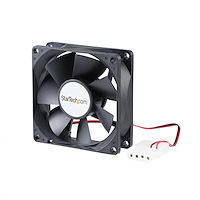 Ventilateur PC à double roulement à billes - Alimentation LP4 - 80 mm