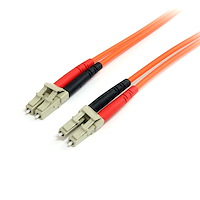 Fiber Optic Cable - Multimode Duplex 62.5/125 - LSZH - LC/LC - 1 m