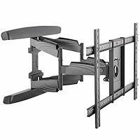 TV Wall Mount supports up to 70 inch VESA Displays - Low Profile Full Motion Universal TV Flat Screen Wall Mount - Heavy Duty Adjustable Tilt/Swivel Articulating Arm Bracket