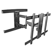 TV Wall Mount for up to 80 inch (110lb) VESA Mount Displays - Low Profile Full Motion Universal TV Wall Mount Bracket - Heavy Duty Adjustable Tilt/Swivel Articulating  Arm