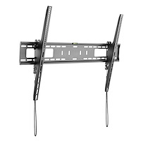 TV Wall Mount supports 60-100 inch VESA Displays (165lb/75kg) - Heavy Duty Tilting Universal TV Wall Mount - Adjustable Mounting Bracket for Large Flat Screens - Low Profile