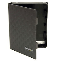 2.5in Anti-Static Hard Drive Protector Case - Black (3pk)