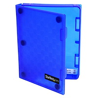 2.5in Anti-Static Hard Drive Protector Case - Blue (3pk)