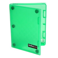 2.5in Anti-Static Hard Drive Protector Case - Green (3pk)