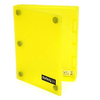 2.5in Anti-Static Hard Drive Protector Case - Yellow (3pk)