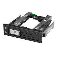 "5.25 to 3.5 Hard Drive Hot Swap Bay - For 3.5"" SATA/SAS Drives - Trayless"