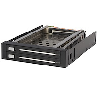 "Backplane per rack portatile trayless hot-swap SATA 2.5"" 2 unità"