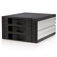 "Backplane per rack portatile trayless hot-swap SATA 3.5"" 3 unità"