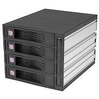 4-Bay 3,5 inch Hot-Swappable SATA Mobile Rack Backplane