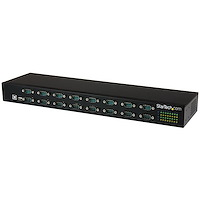 16-Port USB-to-Serial Adapter Hub