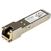 10 pack HPE J8177C Compatible SFP Module - 1000BASE-T - SFP to RJ45 Cat6/Cat5e - 1GE Gigabit Ethernet SFP - RJ-45 100m - HPE 1810, 1820, 2530
