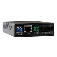 10/100 Multimode Fiber Ethernet Media Converter (ST)
