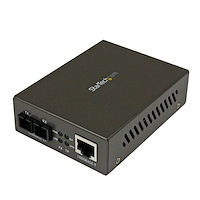 1000 Mbps Gigabit Single Mode Fiber Ethernet Media Converter SC 15km