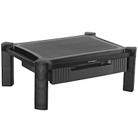 Monitor Riser - Drawer - Height Adjustable