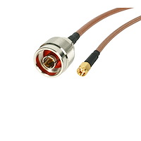 Wireless Antenna Adapter Cable - N to SMA - M/M