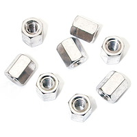 Nuts #4-40 x 6mm long - 50 Pack