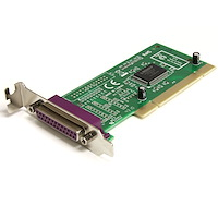 1 Port Low Profile PCI Parallel Adapter Card
