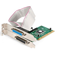 2 Port PCI Parallel Adapter Card - EPP/ECP