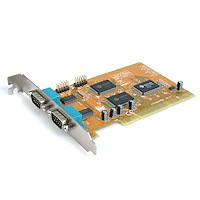 2-Port Dual Voltage WHQL Approved Serial Card with Legacy Port Remap Function