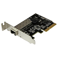 PCI Express 10 gigabit Ethernet glasvezelnetwerkkaart met open SFP+ - PCIe x4 10 Gb NIC SFP+ adapter