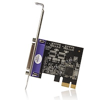 Dual Profile PCI Express Parallel Adapter Card -  SPP/EPP/ECP