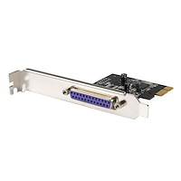 1 Port PCI Express Dual Profile Parallel Adapter Card - SPP/EPP/ECP