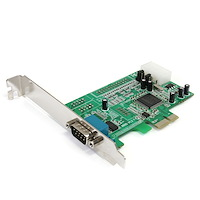 1 Port Native PCI Express RS232 Serial Adapter Card with 16550 UART