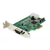 Low Profile PCI Express Serial Card (RS232) (16550 UART, Native PCIe Chipset)