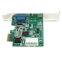 PCI Express RS232 Serial Adapter Card with 16950 UART (Native Chipset)
