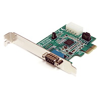 1 Port Native PCI Express RS232 Serial Adapter Card with 16950 UART