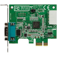 Low Profile PCI Express Serial Card w/ 16950 UART, Native PCIe Chipset