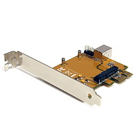 PCI Express auf Mini PCI Express Adapter Karte