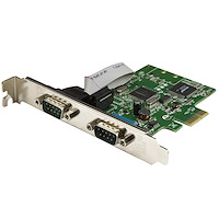 2-Port PCI Express Serial Card with 16C1050 UART - RS232