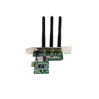 S.T.A.M.P.S Startech.com pci Express Wireless n Adapter pex300wn2x2