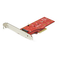 x4-PCI Express 3.0 auf M.2 PCIe NVMe Adapter