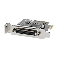4 Port RS232 PCI Express Serial Card w/ Breakout Cable